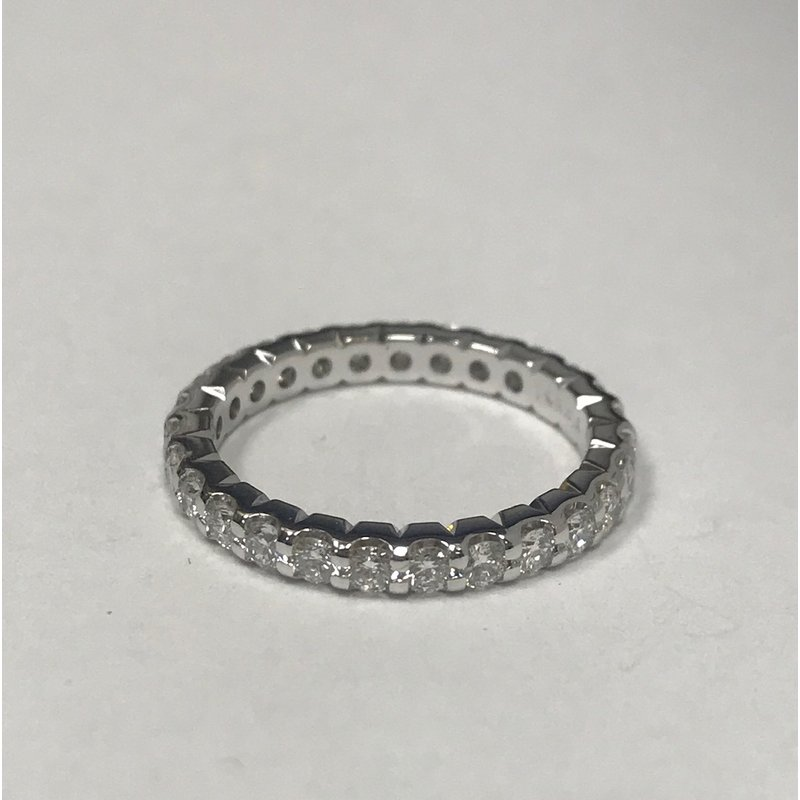 Antique, Estate & Consignment Shared Prong Diamond Wedding Band