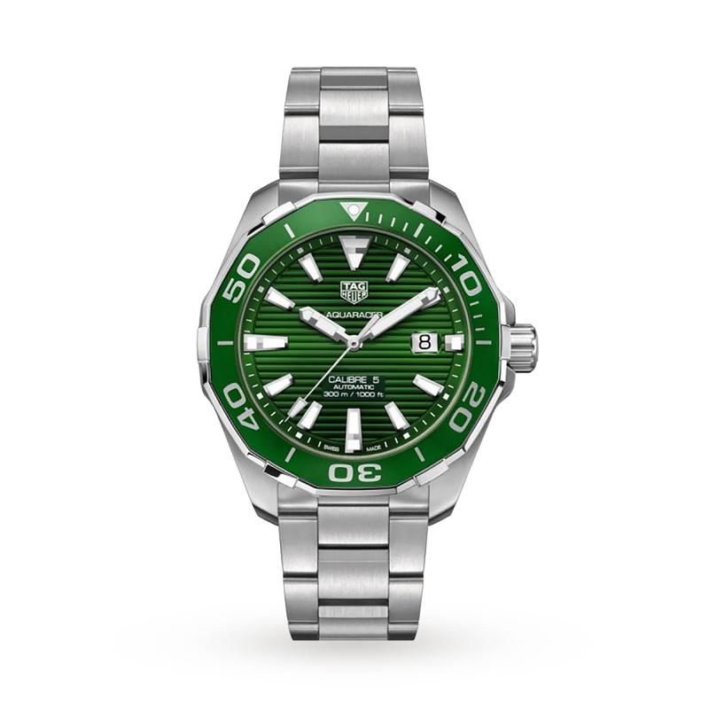 TAG Heuer Aquaracer Calibre 5 - Green Dial