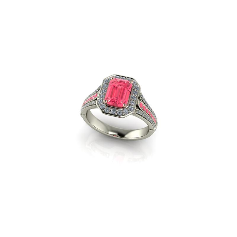 Stardust Custom Pink Ring