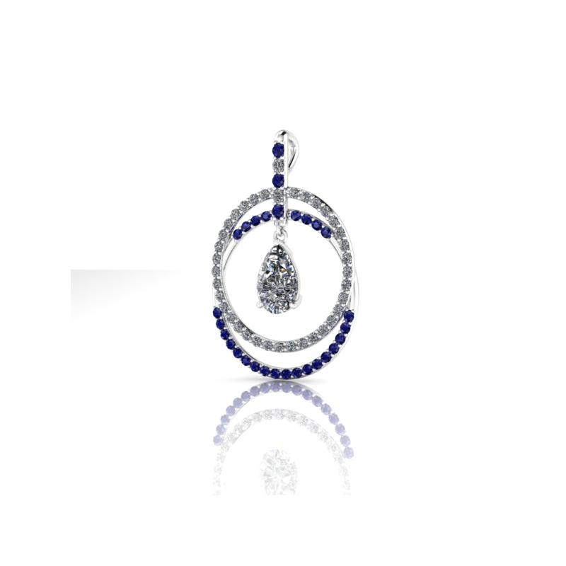Stardust Custom Sapphire Pendant