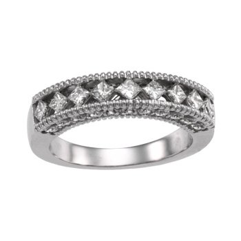 3/4 ct tw Diamond Wedding Band
