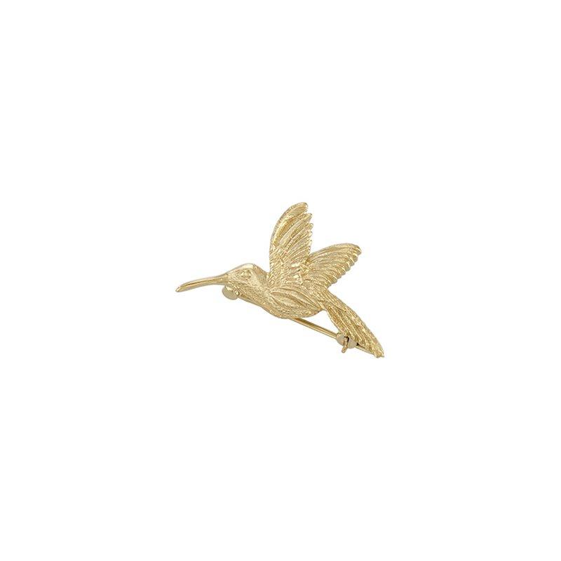 Ladies' Jewelry Hummingbird Brooch