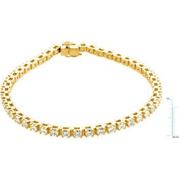 Moissanite Tennis Line Bracelet