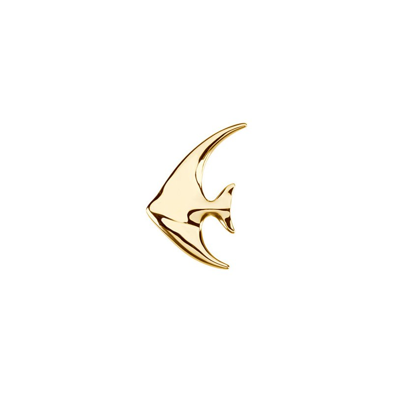Ladies' Jewelry Angelfish Brooch Pendant