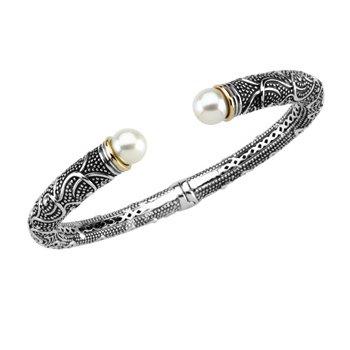 Freshwater Cultured Pearl Cuff Bracelet