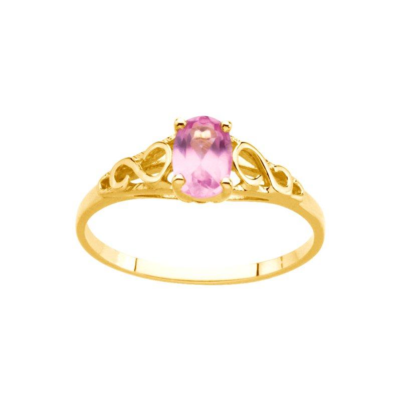 Birthstone Jewelry Teen Imitation October Birthstone Ring