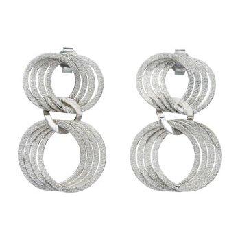 Sterling Silver Fashion Earrings w/backs