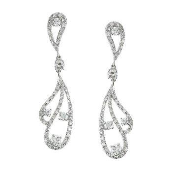 1 1/5 ct tw Diamond Earrings