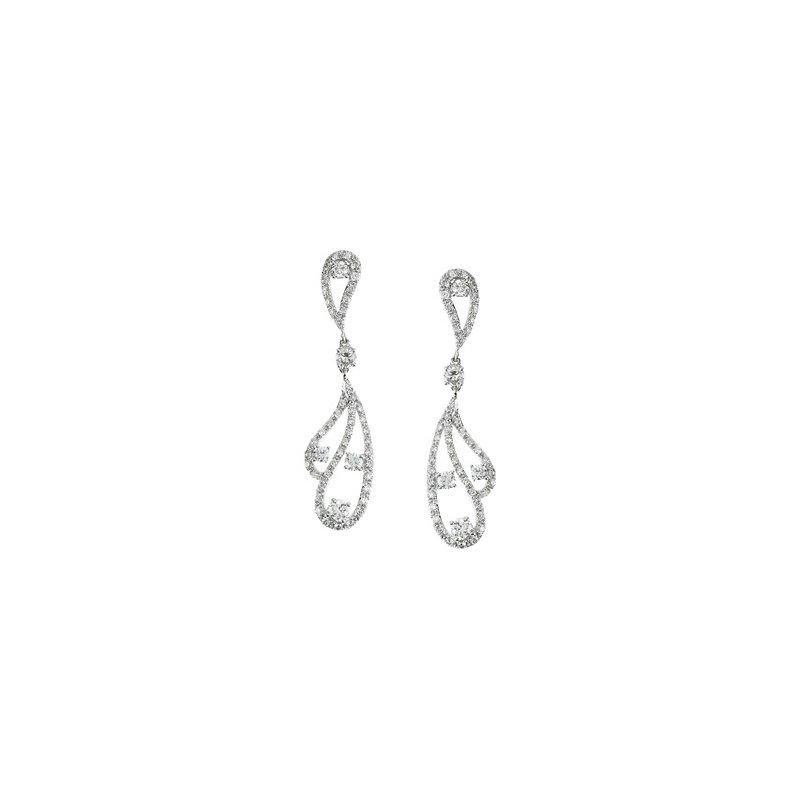 Holiday Ideas 1 1/5 ct tw Diamond Earrings