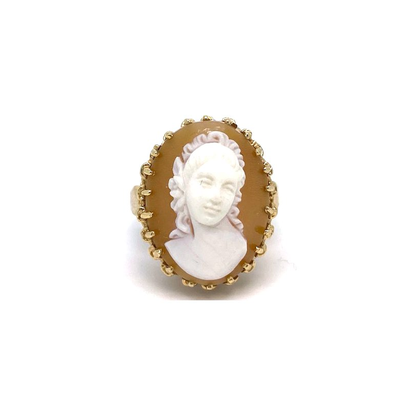 Estate & Vintage Lady's vintage cameo ring