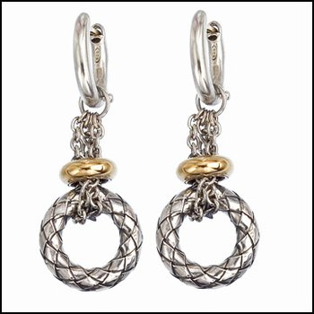 Full Circle Dangle Earring
