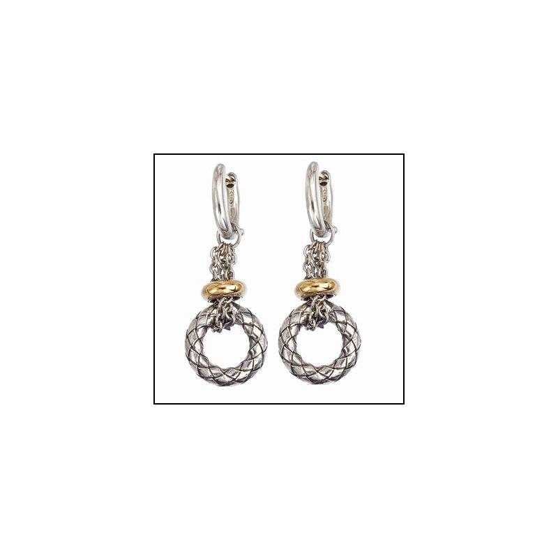Designer Jewelry Full Circle Dangle Earring