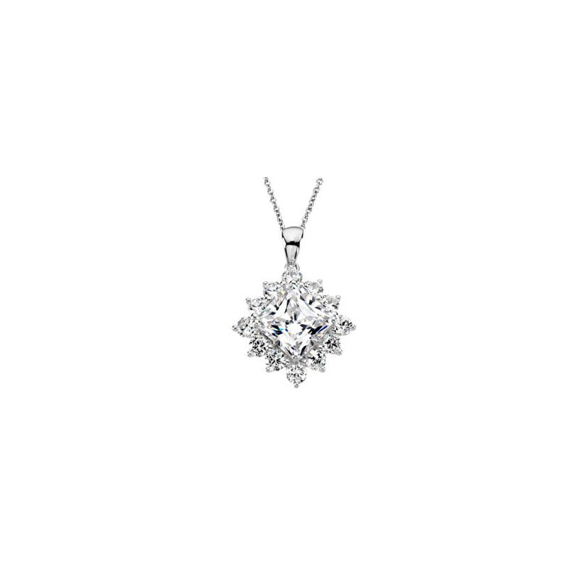 Ladies' Jewelry Cubic Zirconia Necklace