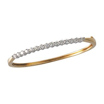 2 1/8 ct tw Diamond Bangle Bracelet