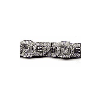 Vintage PREVIOUSLY LOVED® Platinum and Diamond Deco Style Bracelet