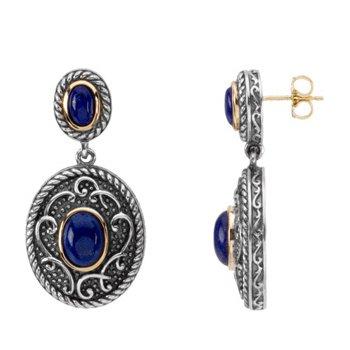 Genuine Lapis Earrings