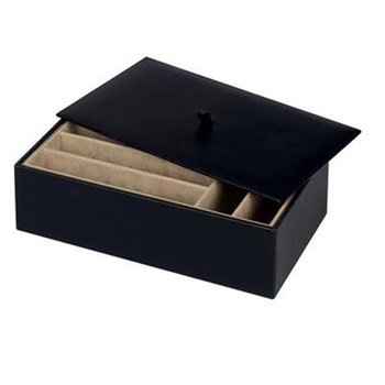 Treasure Trays ® - 4 inch black organizer box