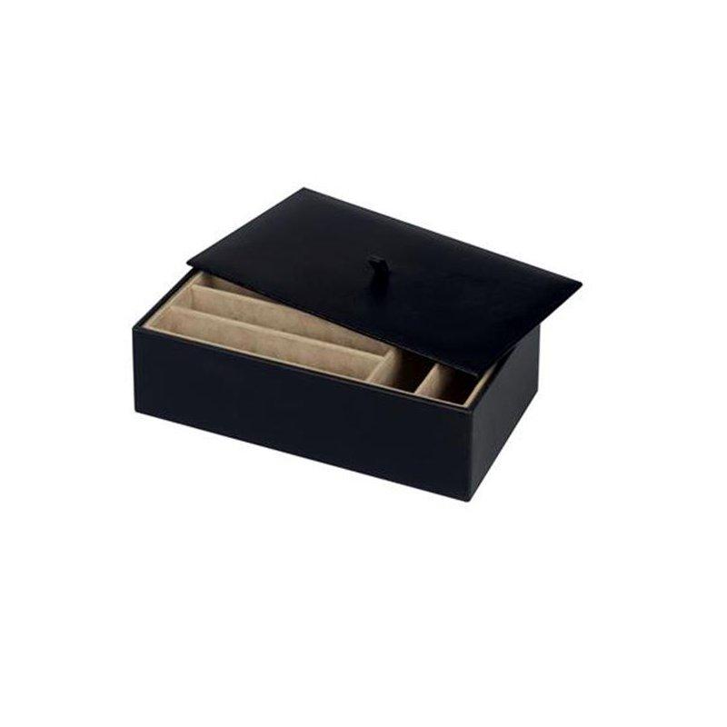 Crazy About Jewelry Treasure Trays ® - 4 inch black organizer box