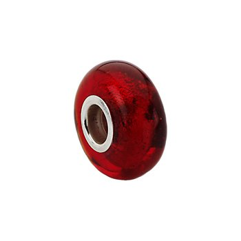 Kera Red Murano Glass Bead
