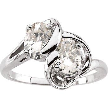 Moissanite Fashion Ring