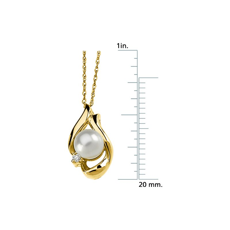Ladies' Jewelry Akoya Cultured Pearl Necklace