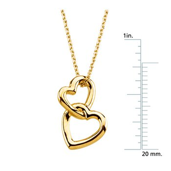 Heart Pendant on a Solid Rope Chain