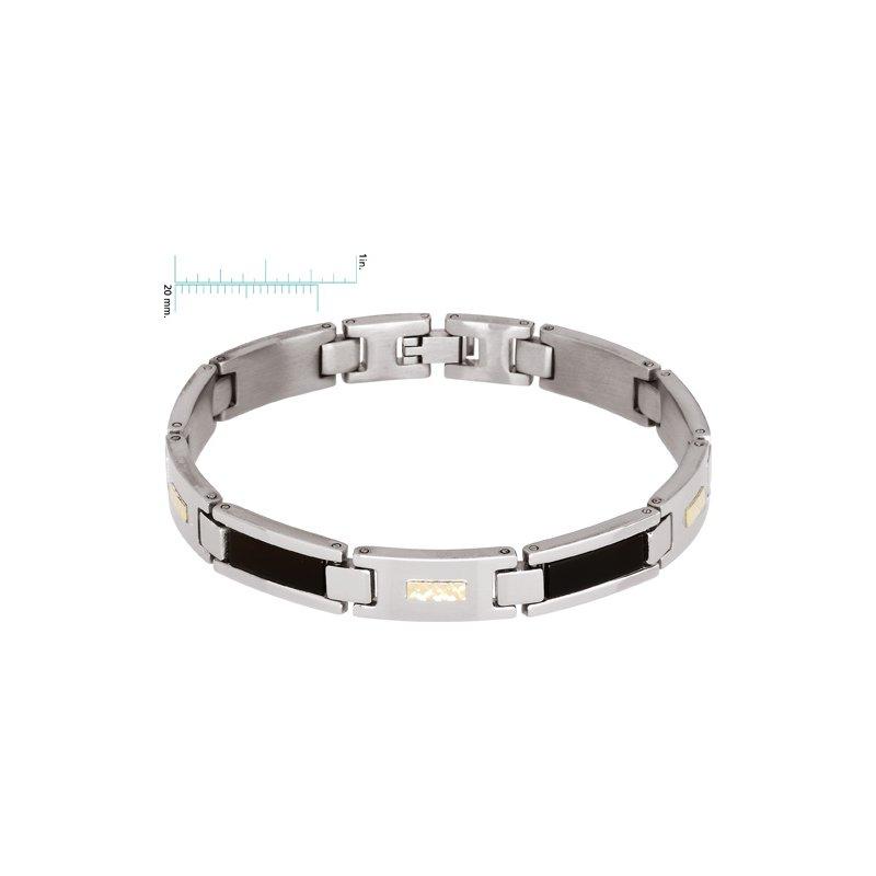 Men's Jewelry Genuine Black Onyx Bracelet