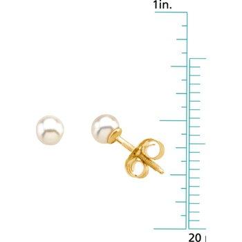 Children's Pearl Earrings