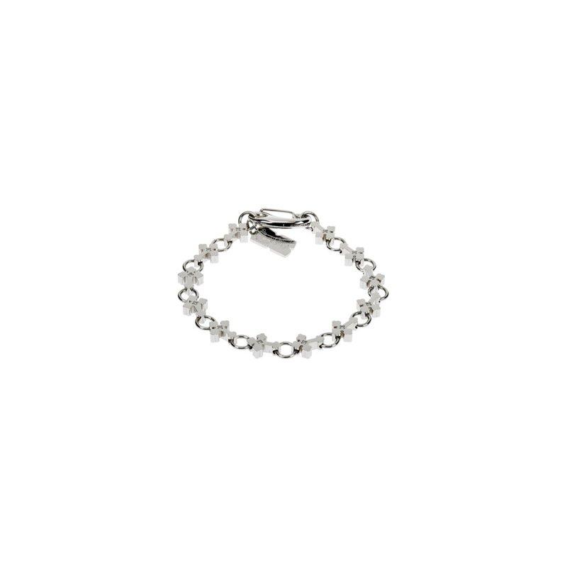Holiday Ideas Stainless Steel Diamond Cross Bracelet