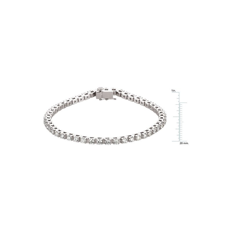 Ladies' Jewelry Diamond Tennis Line Bracelet