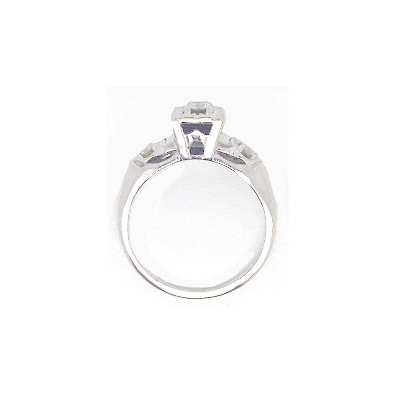 Vintage Bridal Diamond and White Gold, Vintage Bridal Ring