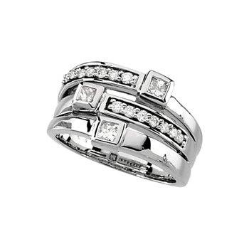 3/4 ct tw Diamond Right Hand Ring