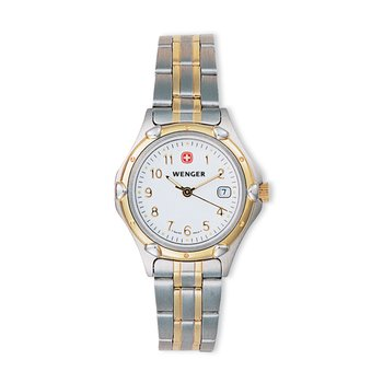 Wenger Ladies Two Tone Standard Issue Watch