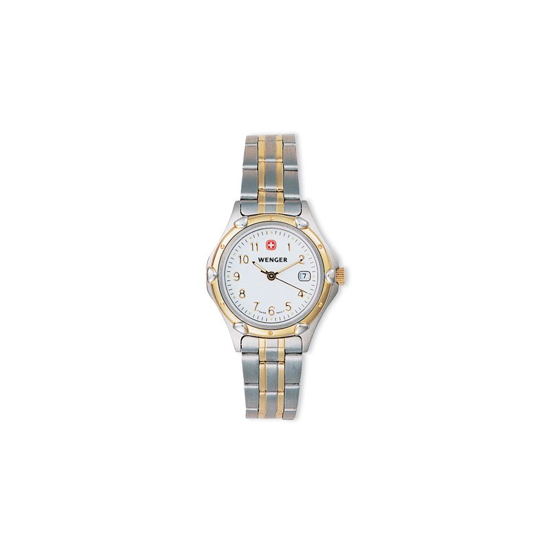 Eisen Watches Wenger Ladies Two Tone Standard Issue Watch