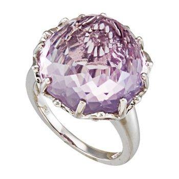 Genuine Rose De France Amethyst Ring
