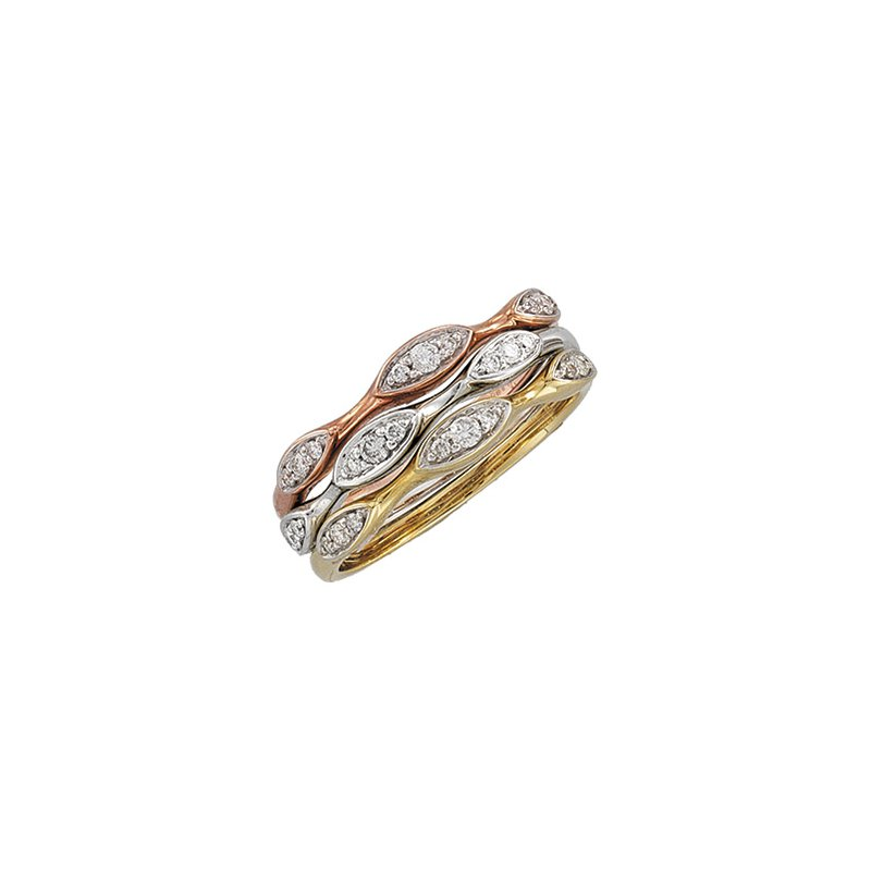 Holiday Ideas 1/10 ct tw Stackable Diamond Ring