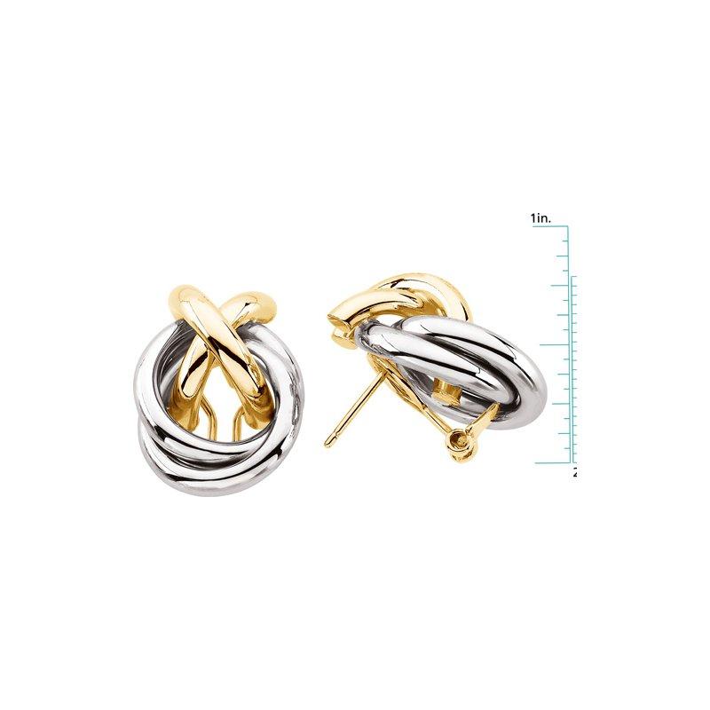 Ladies' Jewelry Gold Earrings