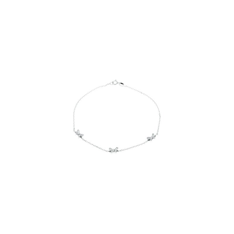 Ladies' Jewelry Butterfly Anklet