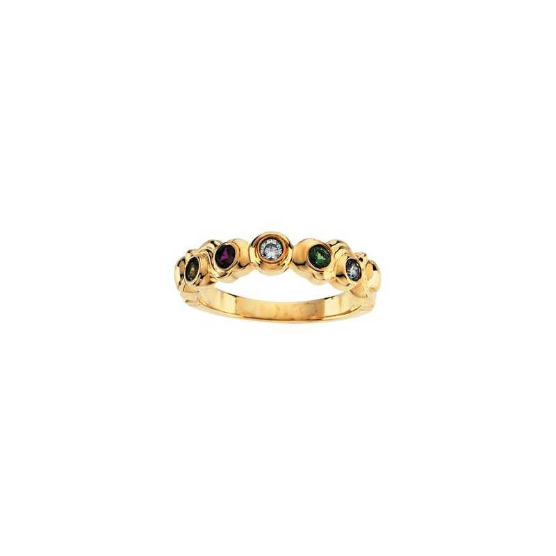 Holiday Ideas Ring for Mom (1 to 7 stones)