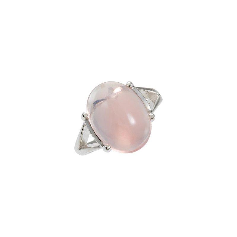 Holiday Ideas Genuine Rose Quartz Ring
