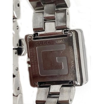 Lady's stainless steel Gucci watch