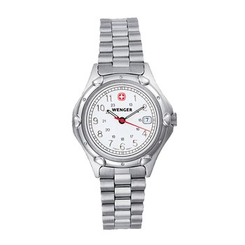 Wenger Ladies White Standard Issue Military Watch