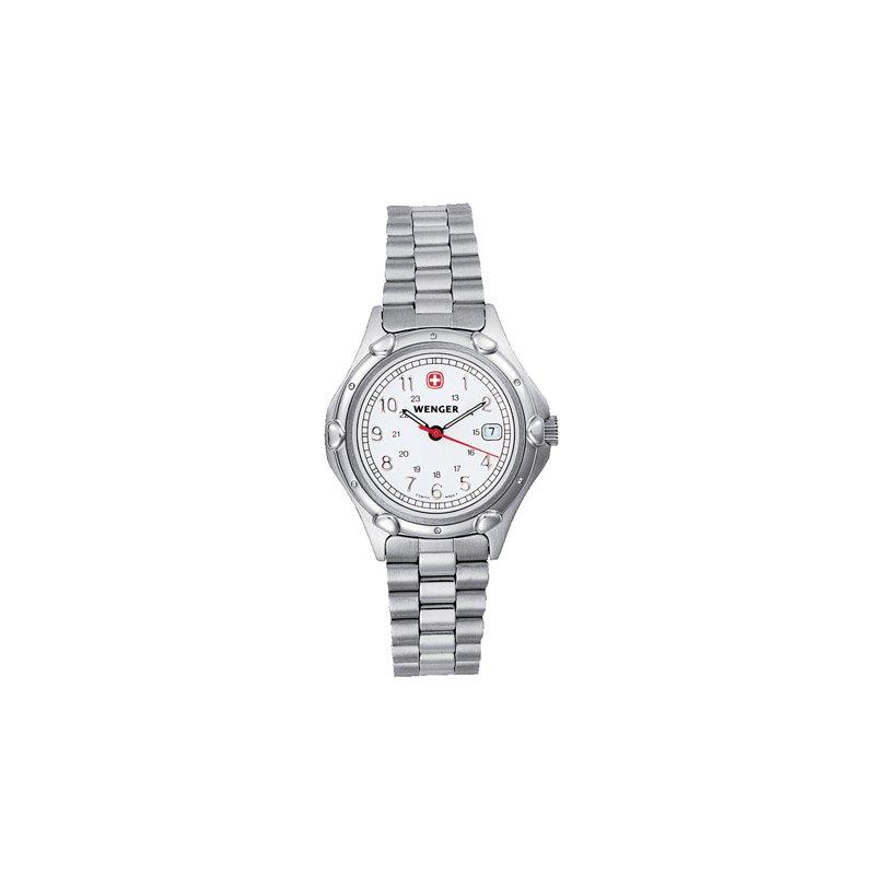 Eisen Watches Wenger Ladies White Standard Issue Military Watch