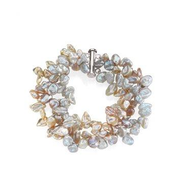 Freshwater Cultured Keshi Pearl Bracelet