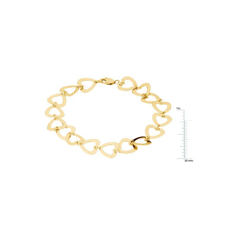 Ladies' Jewelry Geometric Heart Bracelet