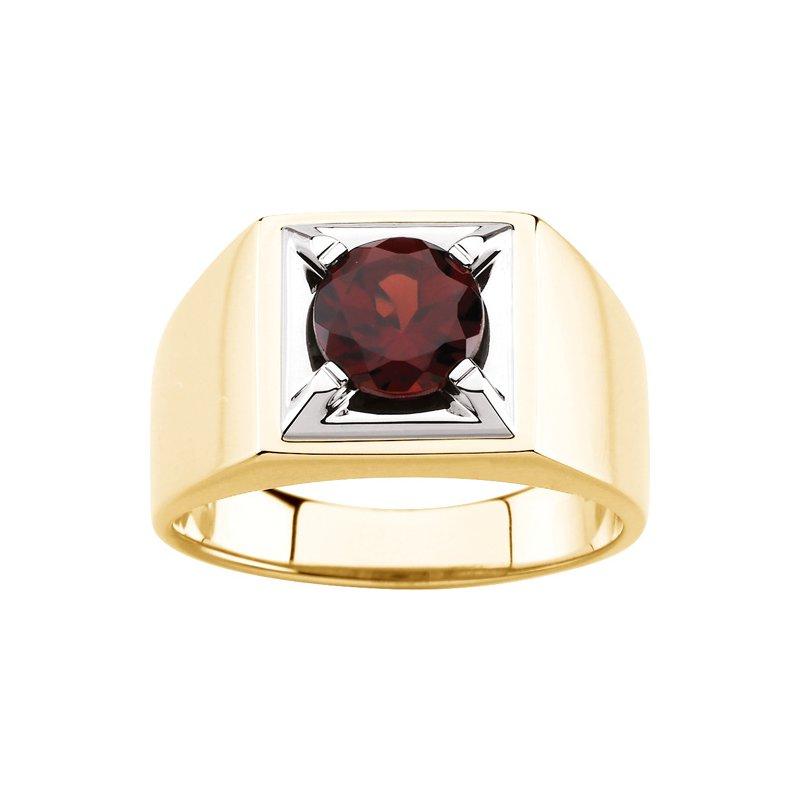 Men's Jewelry Men's Genuine Mozambique Garnet Ring