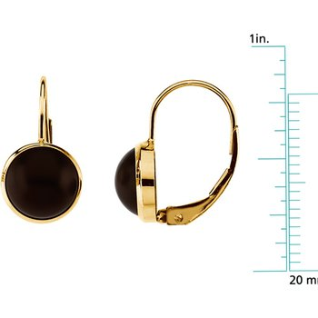 Genuine Onyx Earrings