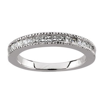 3/8 ct tw Diamond Wedding Band