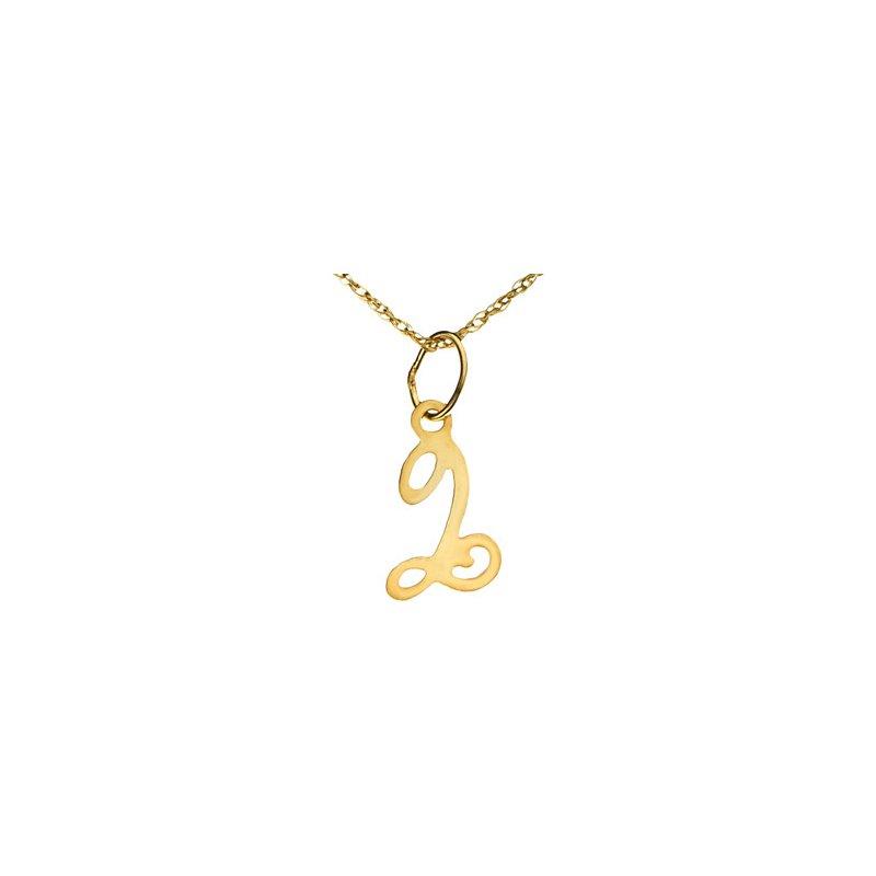 "Ladies' Jewelry Initial ""Q"" Necklace"