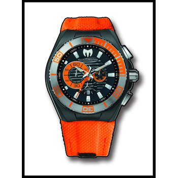 TechnoMarine Watch Cruise Locker Orange